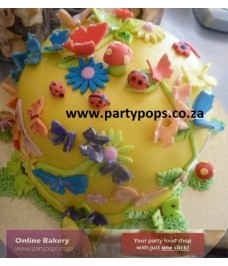 Butterfly Forest cake